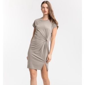 NWT COA KNOTTED ROLL UP DRESS